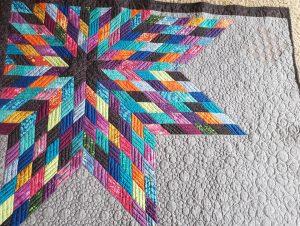 modern star quilt