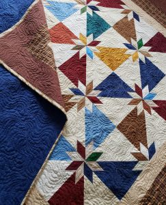 Modern Star Quilt, quilts by taylor